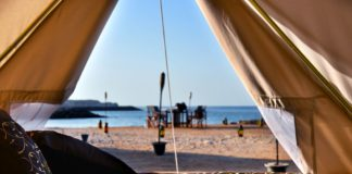 Glamping in den Canvas Club Tents