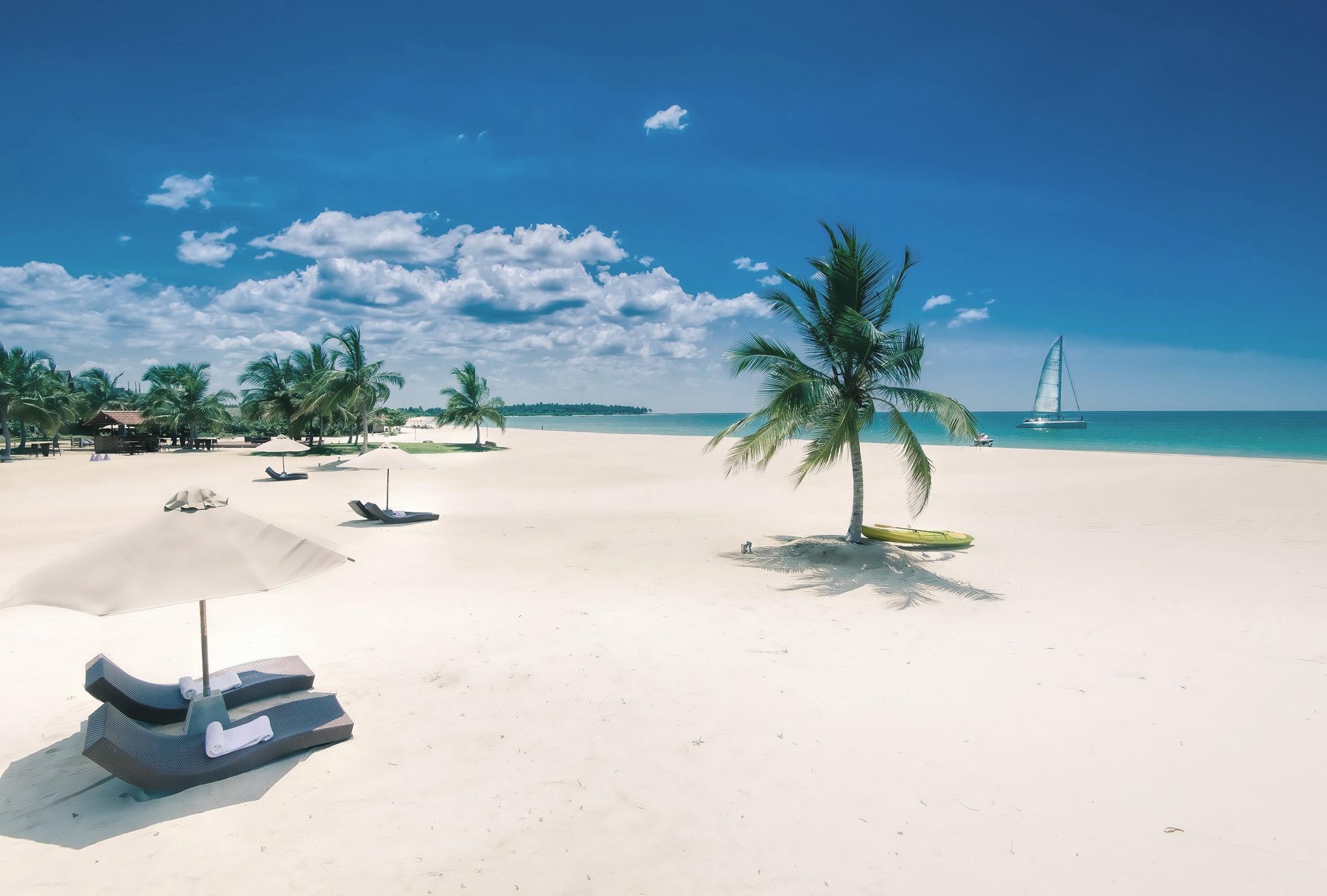 Eines unser Lieblingsresorts - kein Wunder bei diesem Strand
