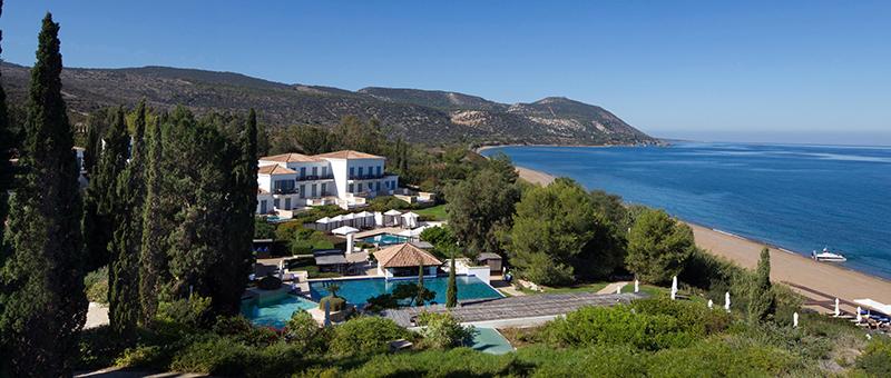 An einem der schönsten Strände Zyperns