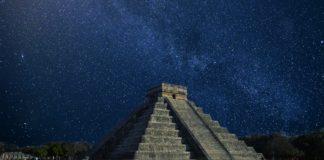 Fantastisches Zeugnis der Maya